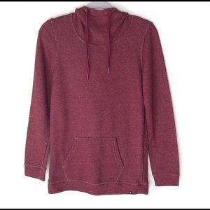 VOLCOM HOODY with Front Pouch Pocket. Size XS